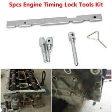 5Pcs Timing Lock Tools Kit Camshaft Cam for Ford Mazda Volvo Fiesta Focus Engine