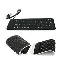 Portable USB Mini Flexible Silicone PC Keyboard Foldable for Laptop Notebook L1