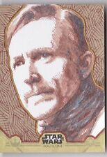 Star Wars Rogue One Topps Sketch Card 1/1 Artist Jim Smith Autograph Signed