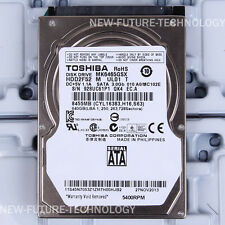 "Toshiba (MK6465GSX) 640 GB HDD 2.5"" 8 MB 5400 RPM SATA Laptop Hard Disk Drive"