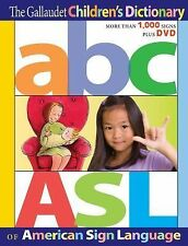 The Gallaudet Children's Dictionary of American Sign Language by Jean Gordon...