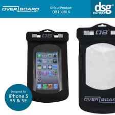 OVERBOARD WATERPROOF DUST PROOF CASE FOR IPHONE 5 5S SE SUBMERSIBLE BLACK