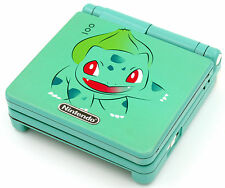 Custom Printed & rociado Bulbasaur Pokemon SP Nintendo Game Boy Advanced SP