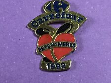 pins pin badge carrefour magazin 1992  fete des meres