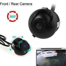 Mini CCD Night Vision 360 Degree Car Rear Front Side View Backup Camera