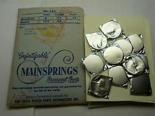 ROLEX CAL. 59 WHITE ALLOW MAINSPRING NEW OLD STOCK SWISS MADE  PART SEALED X 1