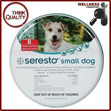 Bayer Seresto Flea & Tick 8 Months Collar for Small Dogs up to 18lbs (8kg)