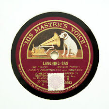 "CICELY COURTNEIDGE AND COMPANY ""Laughing Gas"" HMV B-3993 [78 RPM]"
