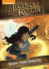 THE LEGEND OF KORRA BOOK TWO SPIRITS New Sealed DVD Season 2 Nickelodeon