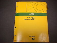 John Deere Parts Catalog No.PC-1362, Forage Harvester,53 Pages