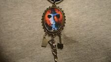 Big Jason Voorhees Takes Manhattan Necklace Zombie Horror Novelty Demon Jewelry