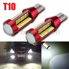 2x T10 W5W 4014 LED 78 SMD Ampoule Wedge Bulb Light Canbus Anti Erreu Feux Lampe