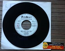 "THE CURE / WHY CAN'T I BE YOU ? - 7"" (Italy 1987 - PROMO / JUKE BOX) RARE !!!"
