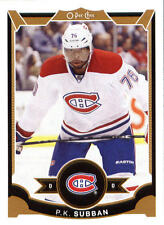 2015-16 O-PEE-CHEE MONTREAL CANADIENS LOT OF 5 HOCKEY CARDS P.K SUBBAN & MORE