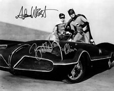 Batman and Robin Adam West & Burt Ward Autograph Signed Photo Preprint