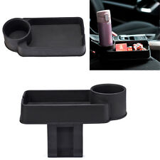 Multi-function Car Accessories Central Storage Box & Drink Cup Holder Black