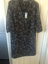 M&s print shift dress size 12reg new with tags nice on