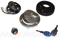 Ignition Switch Fuel Cap Seat Lock Set Kit for Aprilia RS50 RS 50 2006 to 2013