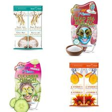 Montagne Jeunesse '2x 7th Heaven' & '2x Face Food' Face Masks - 4x Masks For £4