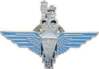 NEW Parachute Regiment Lapel Badge Blue Enamel ( Para