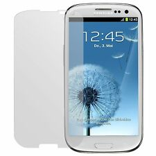 2x Samsung Galaxy S3 i9300 screen protector protection guard anti glare