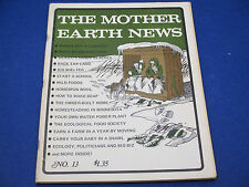 The Mother Earth News, January 1972, Winter Is Good Time To Fish, Homespun Wool