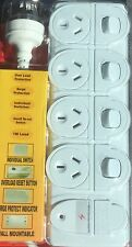 4 WAY SURGE PROTECTOR POWER BOARD WITH INDIVIDUAL SWITCHES New Arrival & Design