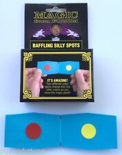 BAFFLING SILLY SPOTS Magic Trick Panel Dots Change Colors Beginner Pocket Easy