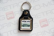 Volvo 700 740 760 Keyring - Leatherette Retro Classic Car Auto Keytag