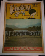 Kiwi's 71, N.Z Rugby League Tour of Great Britain and France, 1971, Magazine