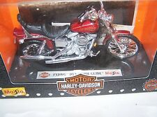 Maisto Harley Davidson FXDWG Dyna Wide Glide - Motorcycle  1:18 - 1997