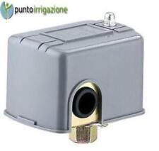 Pressostato per autoclave elettropompa tarabile da 1,4 a 5,5 BAR di pressione