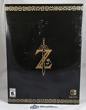 The Legend of Zelda: Breath of the Wild MASTER EDITION (Nintendo Switch) IN-HAND