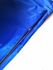 extra large  waterproof durable dog bed  SPARe COVER BLUE zipped cover 48i x30