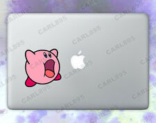 Kirby (A) Color Vinyl Sticker for Macbook Air/Pro