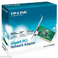 TP-Link PCI Network Device TG-3269 10/100/1000Mbps Gigabit Card