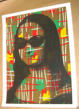 MR BRAINWASH VINTAGE MONA LISA PRINT ONLY 35 andy warhol banksy kaws art invader