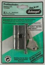 Profilzylinder, Türschloß Doppelzylinder, Schließzylinder Messing 27,5 x 32,5 mm