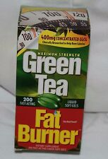 200 Green Tea Fat Burner 400mg EGCG Weight Loss Pills Applied Nutrition Softgel