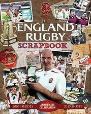 """The Official England Rugby Scrapbook Trinity Mirror Sport Media """"AS NEW"""" Book"""