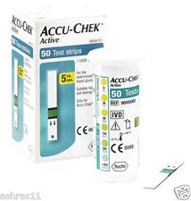 50 Test Strips of Accu Chek Active Blood Sugar .