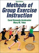 NEW - Methods of Group Exercise Instruction-3rd Edition With Online Video