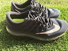 Mens Nike Air Max 2016 806771-001 Black Running Shoes Size 11