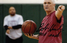 Bob Hurley Basketball Hall of Fame St. Anthony SIGNED 4x6 PHOTO AUTOGRAPHED