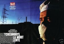 Coupure de Presse Clipping 1989 (8 pages) Tchernobyl la mort lente