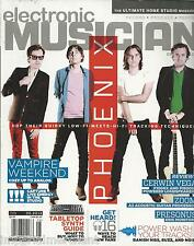 Electronic Musician magazine Phoenix Vampire Weekend Tabletop synth guide