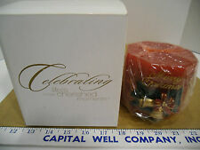 1999 Christmas Around The World Songs for the Season Musical Candle - NEW