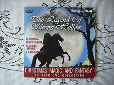 D/MAIL PROMO DVD - KIDS  ADVENTURE MOVIE  -THE LEGEND OF SLEEPY HOLLOW