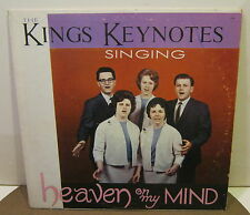 THE KINGS KEYNOTES Singing HEAVEN ON MY MIND Phonograph Record Album LP