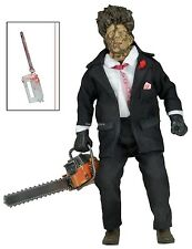 "Texas Chainsaw Massacre 2 - Clothed 8"" Retro Style Figure - Leatherface - NECA"